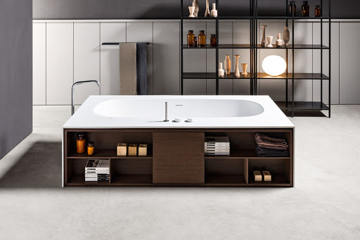 Italian Home Renovation Bathroom Bathtub Makro Wave Surround