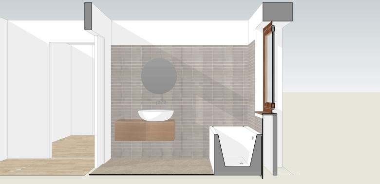 Italian Home Renovation Blog Bathroom Design 1 Sink Wall