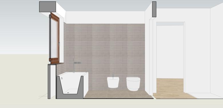 Italian Home Renovation Blog Bathroom Design 1 Bidet View