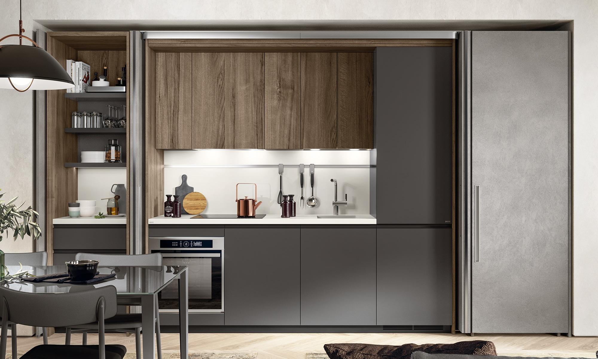 Italian Home Renovation Blog Hidden Kitchen Modern