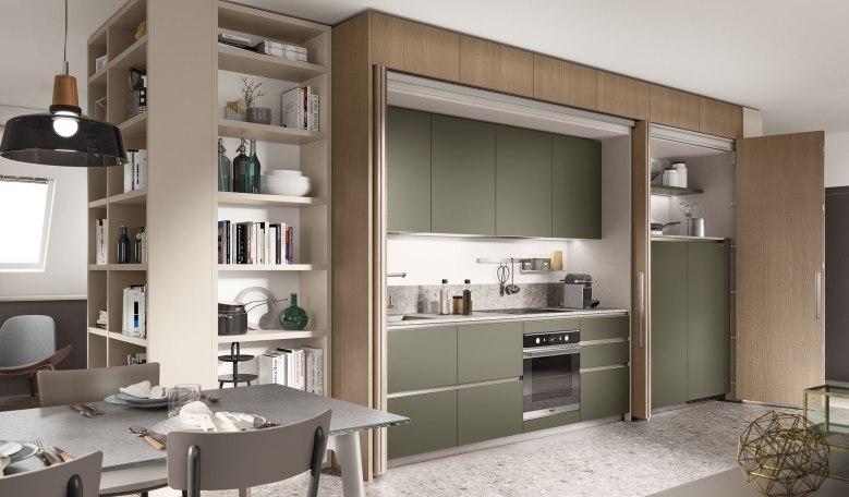 Italian Home Renovation Blog Hidden Kitchen