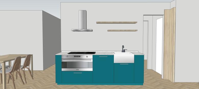Italian Home Renovation Blog Kitchen Marble Counter Resin Backsplash